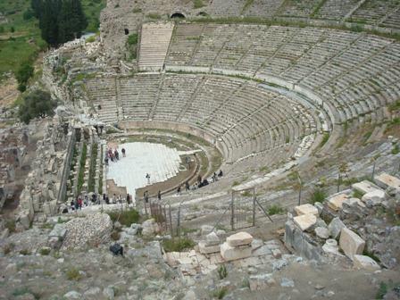 Convex Limited şirketi Efes Antik Tiyatrosu Restorasyon Projelendirme